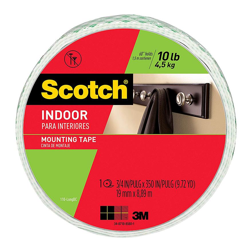"3M™ 111-LONGDC Scotch 0 75"" x 9 72 Yards Permanent Double"