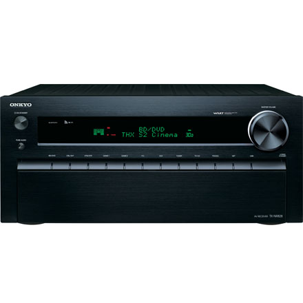 Onkyo TX-NR828 7.2 Ch Network A/V Receiver w/ Bluetooth, WiFi, & 3D Support
