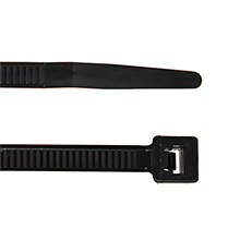 ACT 14in Cable Ties, Black, qty100 ACT1450B
