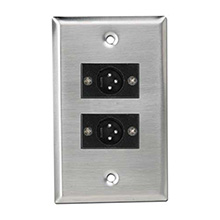 Atlas SG-XLR-M2 XLR Wall Plate