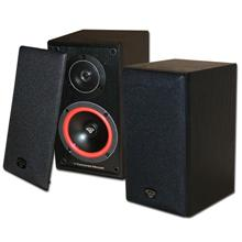 1 Pair Cerwin Vega VE-5M Bookshelf Speakers 125 Watt 2 speakers, Includes 50ft of Speaker Wire Free! CER1004