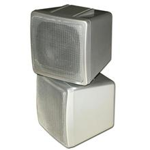 Choice Select 4in Stacked Surround Speaker, Silver, 8 ohm, each