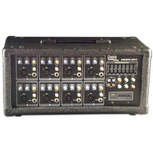 Choice Select Ultra PM-808 Powered 8 Channel Mixer Digital Delay 75W RMS