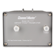 Channel Master Model 7778 Titan2™ Mast Mounted Pre-Amp 7778