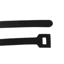 "20"" Velco cable ties, Black CON1052B"