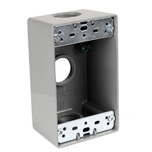 "weatherproof junction box 1/2"" CON5034WPB"