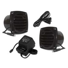 Cool Components PK-CV1-BLK Cabinet Vent Package, black COOL2013