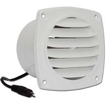 Cool Components VS-CV-WHT Cabinet Vent, white COOL2020