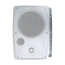 "CUR3000 Current Audio 6.5"" 2-Way Outdoor Cabinet Speaker, White"