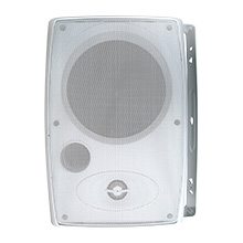 "CUR3002 Current Audio 5.25"" 2-Way Outdoor Cabinet Speaker, White"