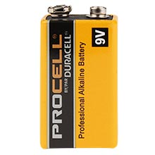 PC1604, Procell 9V Battery DUR1102