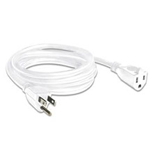 6W, 6' WHITE POWER CORD MID1004