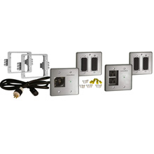 Panamax MIW-POWERKIT-PRO In-Wall Home Theater Power Management Kit PAN1029