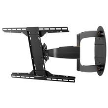 Peerless Model SA752PU Articulating Arm for 32-52in Screens, gloss black PEE7520B
