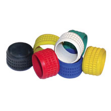 COLOR BAND, YELLOW, 20 PC PLA2012