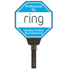 Ring Solar Security Sign RNG1007