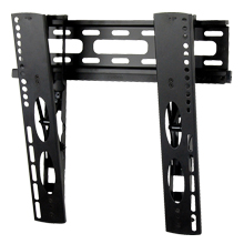 Royal Mounts Large Low Profile Tilt Mount for 22-47in for Ultra-Thin Flat Panels (Black)