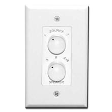 Saga Elite 2 Source Speaker Selector Wall Switch, white SAG1100HE