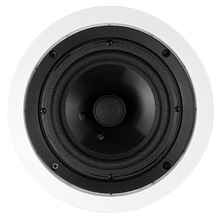 Saga Contractor Series 6.5in Ceiling Speakers, pair SAG6021