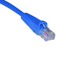1ft CAT5E BLUE PATCH CABLE SKL2199B