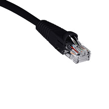 1ft CAT5E Patch Cable BLK SKL2199K