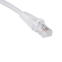 1ft CAT5E Patch Cable WHT SKL2199W