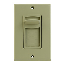 Advantage 50 Watt Sliding Resistor Based Volume Control, Ivory
