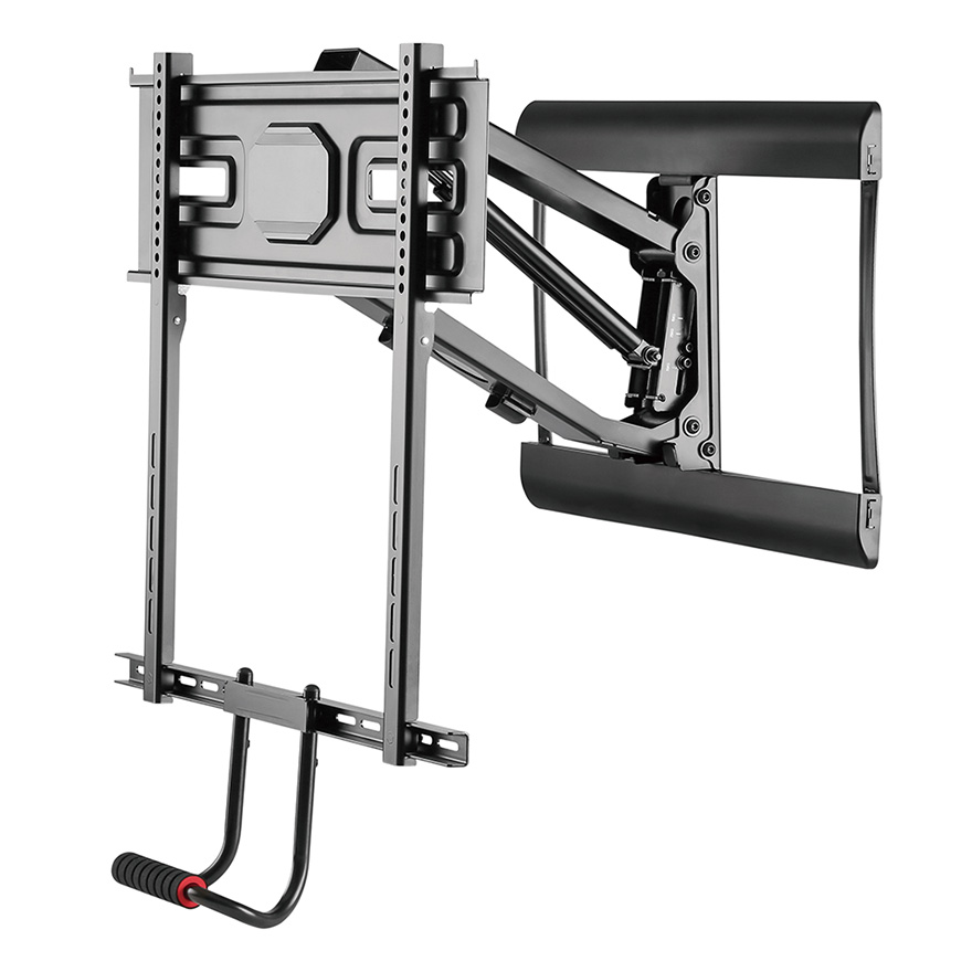 """Hotspot Mounts Pull-Down Fireplace Mount for 43""""-70"""" Flat Panel TVs"""